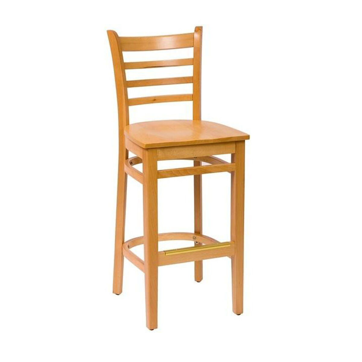 Our Burlington Natural Wood Ladder Back Barstool Seat Is On Now