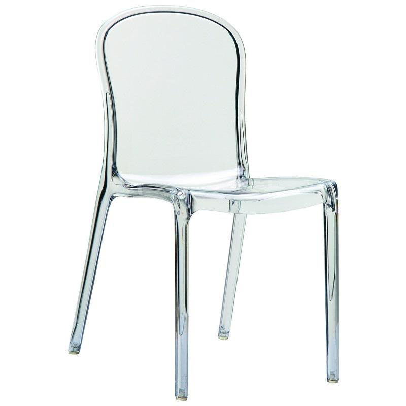 ... Our Victoria Modern Outdoor Polycarbonate Stackable See Through Dining Chair - Transparent Clear is on sale ...  sc 1 st  Best Chiavari Chairs & Clear Stacking Dining Chair ISP033-TCL | BestChiavariChairs.com