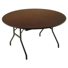 Customizable Economy 130 Series Round Fixed Height Table - 60