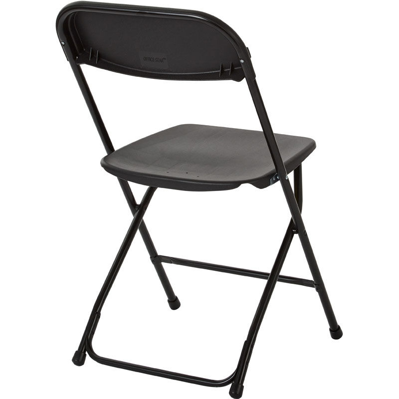 ... Our Work Smart Plastic Folding Chair   Set Of 10   Black Is On Sale Now  ...