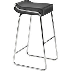 Wedge Barstool in Black