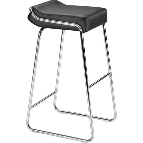 Our Wedge Barstool in Black is on sale now.