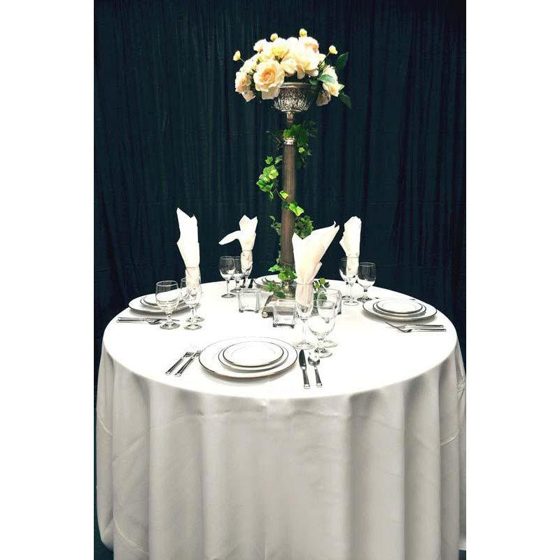 ... Our 60u0027u0027 X 60u0027u0027 Renaissance Stain Resistant Series Square Tablecloth    White