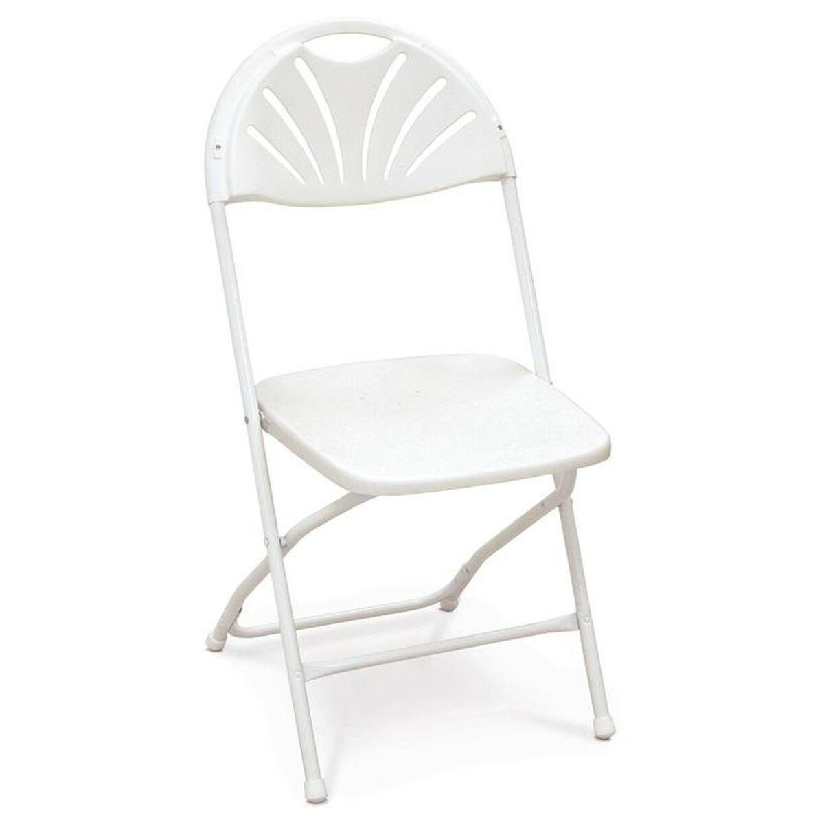 White Stackable Folding Chair 51050fb Bestchiavarichairs Com