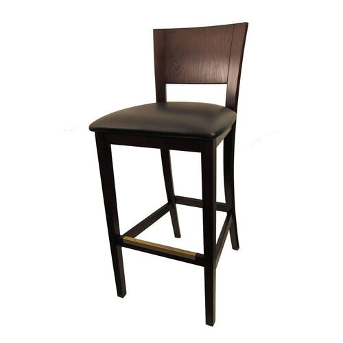 Our Dining Barstool with Dark Brown Finish is on sale now.