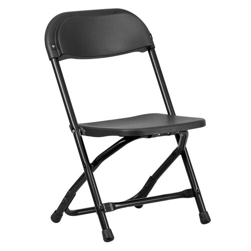 Our Kids Black Plastic Folding Chair is on sale now.