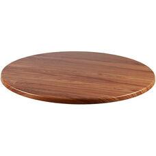 Duratop Outdoor 36'' Round Table Top - Teak