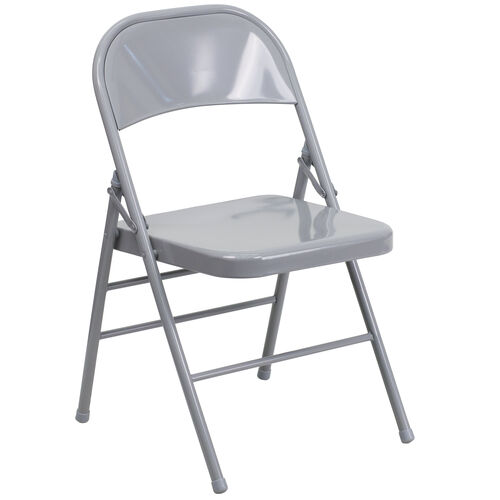 Our HERCULES Series Triple Braced & Double Hinged Gray Metal Folding Chair is on sale now.