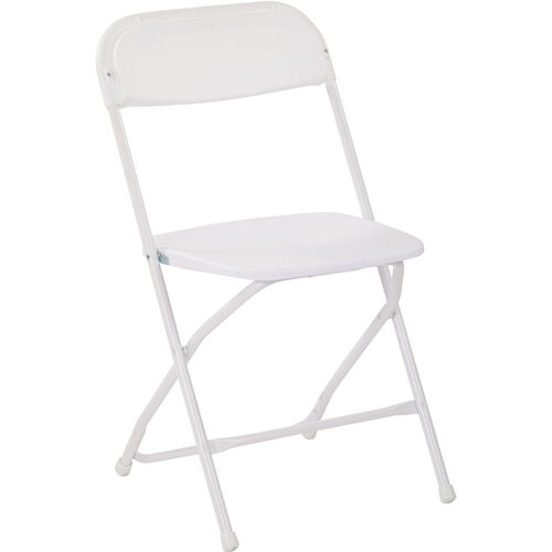Our Work Smart Plastic Folding Chair - Set of 10 - White is on sale now.