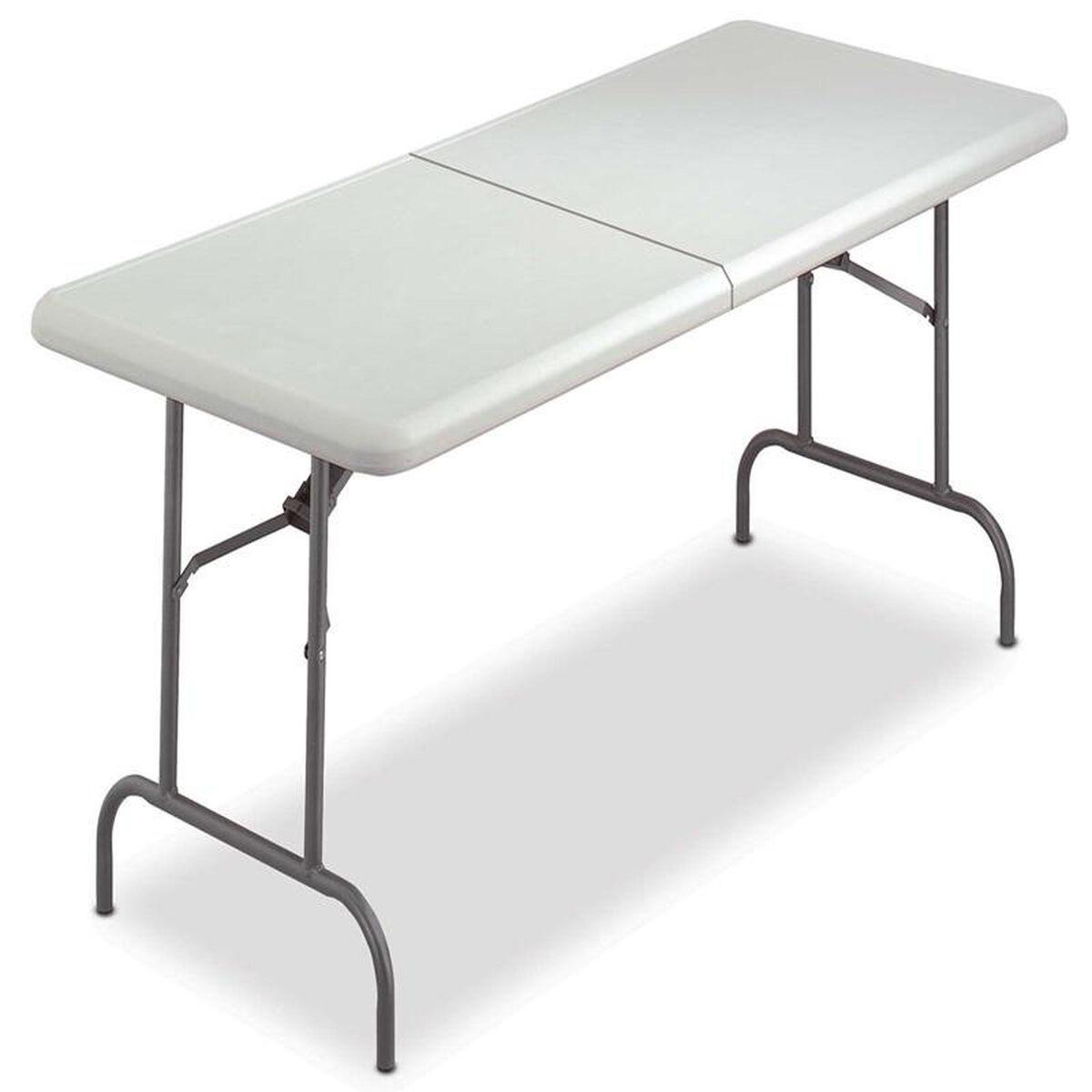 resin bi fold table platinum ice65453 bestchiavarichairs com