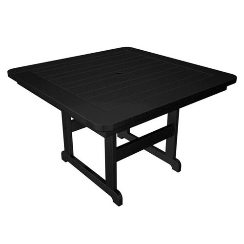 Our POLYWOOD® Commercial Collection Park Square Table - Black is on sale now.