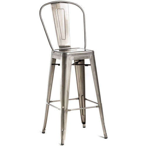 Our Oscar Steel Armless Barstool - Set of 2 - Brushed Gun Metal is on sale now.