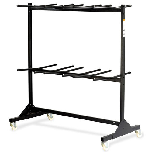 Our Safco Double Tier Folding Chair Cart - Black is on sale now.