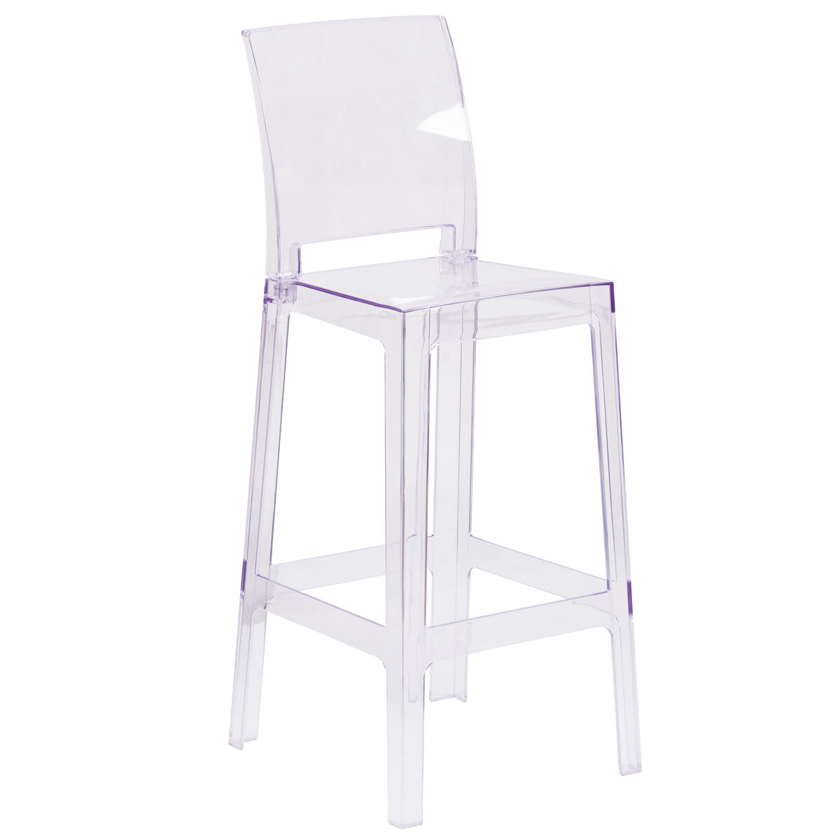 Square Back Ghost Barstool Ow Squareback 29 Gg