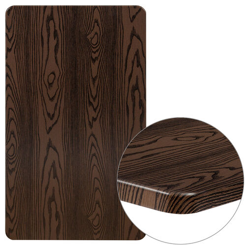 "Our 24"" x 42"" Rectangular Rustic Wood Laminate Table Top is on sale now."