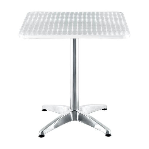 Christabel Square Table in Aluminum