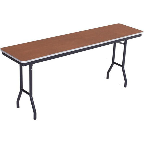 Our Sealed and Stained Plywood Top Table with Aluminum T - Molding Edge - 18