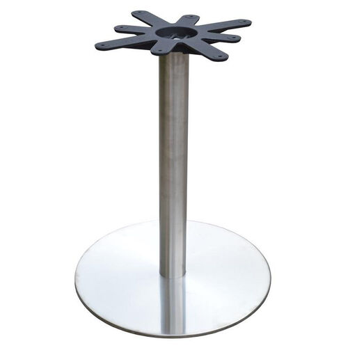 Our Stainless Steel Round Dining Height Table Base with 22