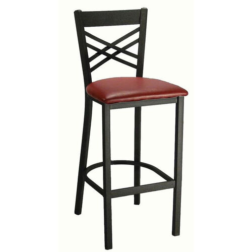 Our Cross Back Metal Barstool is on sale now.