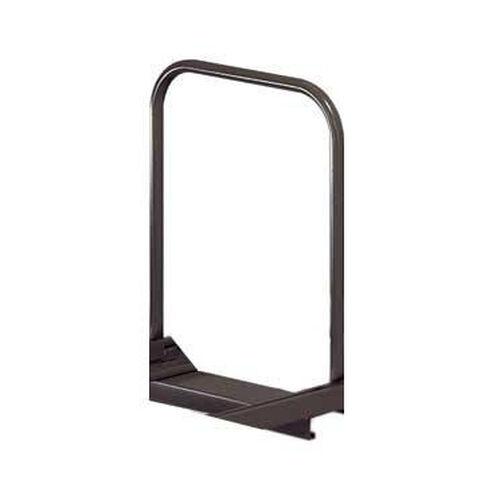 Additional Adjustable Single Level Folding Chair Caddy Support Bar Metal - Black