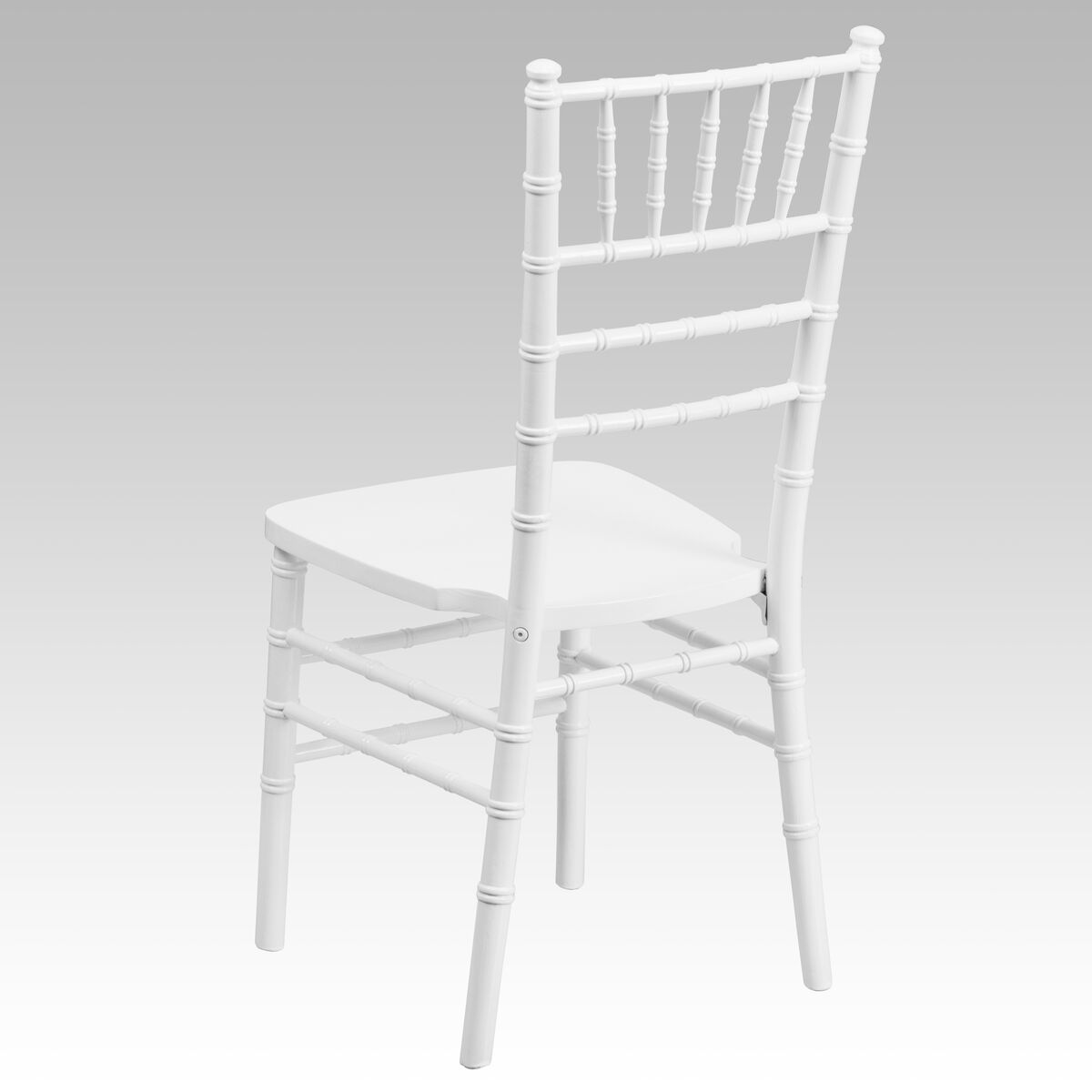White And Blue Room: White Wood Chiavari Chair XS-WHITE-GG