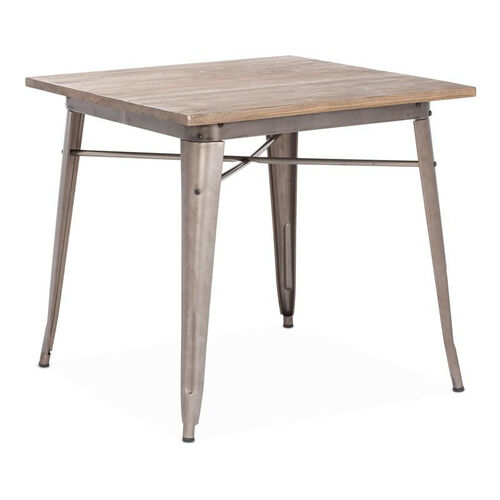Our Titus Dining Table in Rustic Wood is on sale now.
