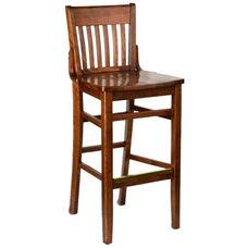 Henry Bar Stool - Wood Seat