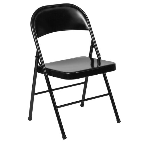 Our HERCULES Series Double Braced Black Metal Folding Chair is on sale now.