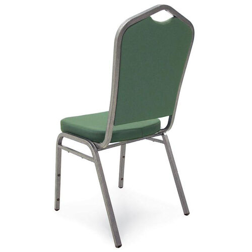 Our Superb Seating Heavy-Duty Steel Frame Fabric Upholstered Stacking Chair - Forest Green is on sale now.