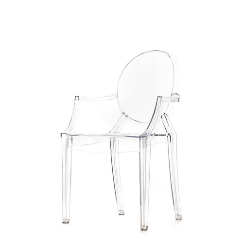 Our Polycarbonate Stackable Kage Chair with Arms - Set of 4 is on sale now.