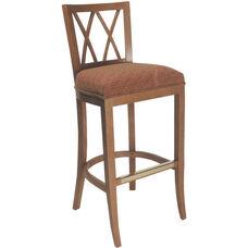 4624 Bar Stool w/ Upholstered Webb Seat - Grade 1