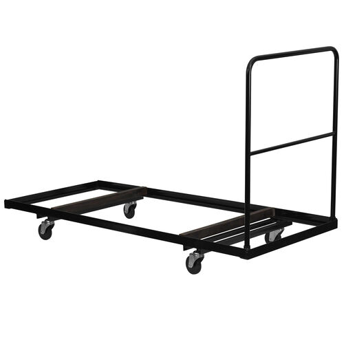 Black Folding Table Dolly for 30