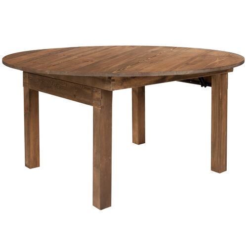 Our HERCULES Series Round Dining Table | Farm Inspired, Rustic & Antique Pine Dining Room Table is on sale now.