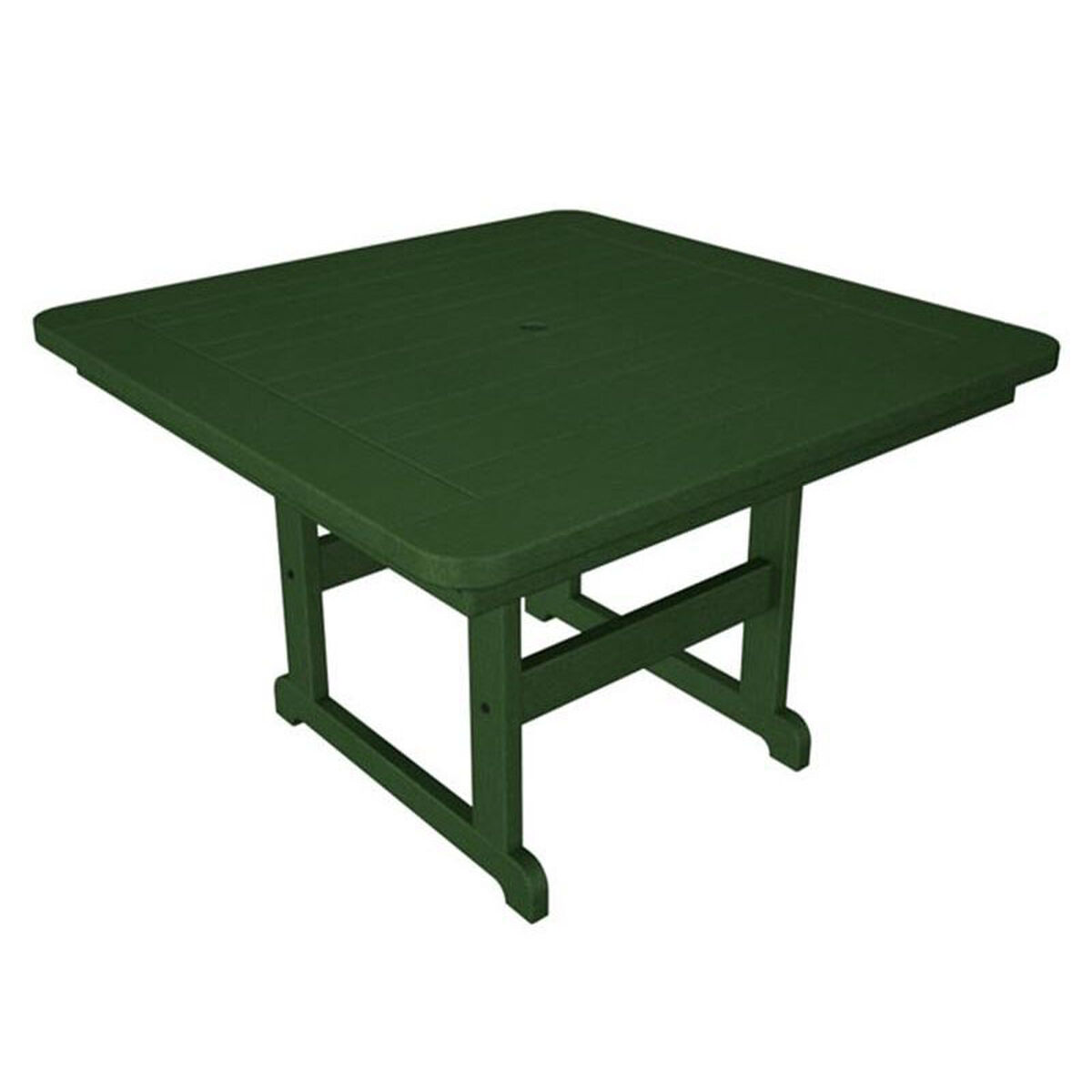 Our polywood commercial collection park square table green is on sale