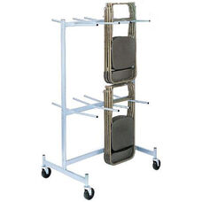 Compact Size Hanging Folded Chair Storage Truck - 74