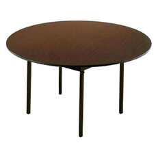 Customizable 720 Series Multi Purpose Round Deluxe Hotel Banquet/Training Table with Plywood Core Top - 66