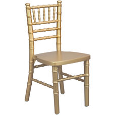 Advantage Kids Gold Wood Chiavari Chair