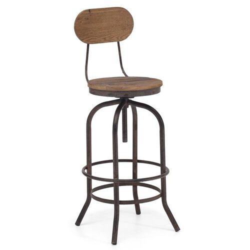 Our Twin Peaks Bar Chair in Distressed Natural is on sale now.