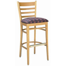 1978 Bar Stool w/ Upholstered Seat - Grade 1