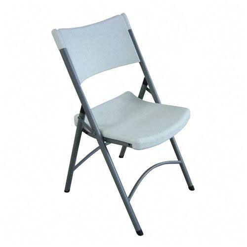 Lorell Blow Molded Folding Chairs - Set of 4