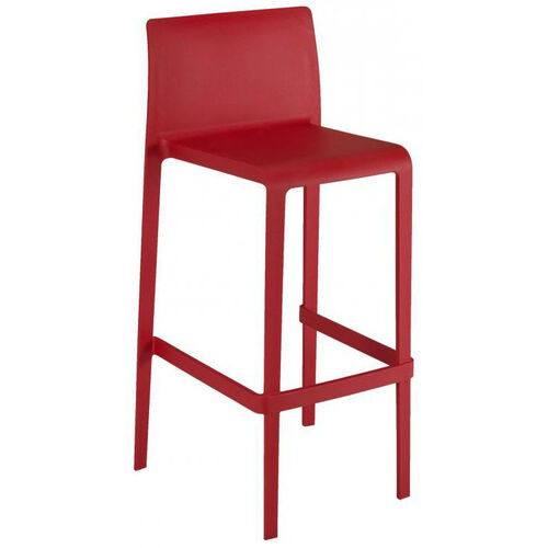 Our Pedrali Stackable Poly Shell Outdoor Barstool - Red is on sale now.