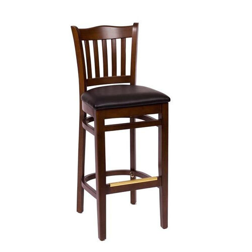 Our Princeton Walnut Wood School Barstool - Vinyl Seat is on sale now.