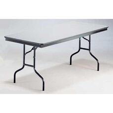 EP Series Long Rectangular Plywood Core Folding Table - 30