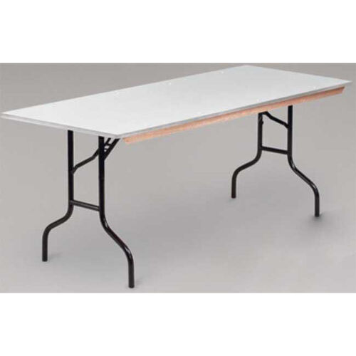 EP Series Rectangular Plywood Core Folding Table - 30