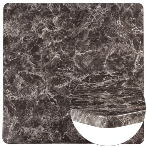 "Our 42"" Square Gray Marble Laminate Table Top is on sale now."