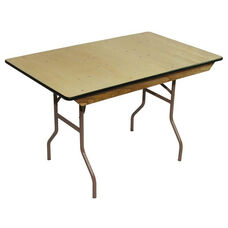 Reliant Standard Series Banquet Table with Non Marring Floor Glides