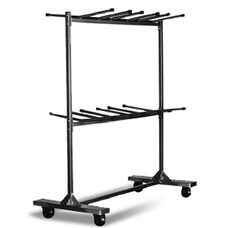 Hanging Folding Chair Cart - 90''L X 50''W