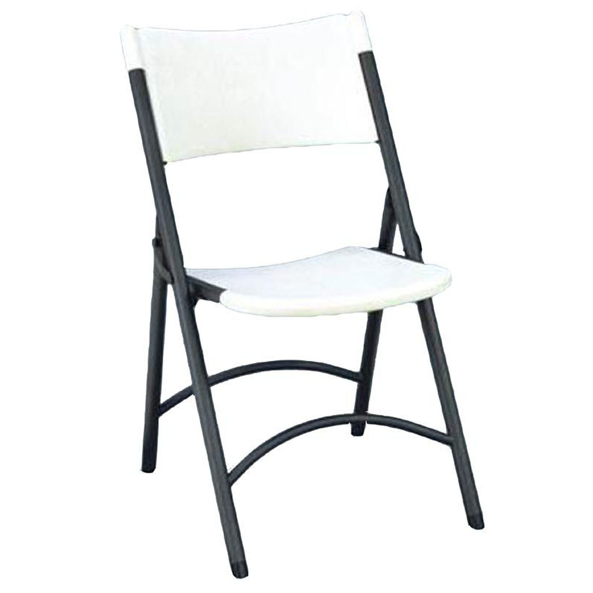 Fine Armless Plastic Folding Chair With Charcoal Steel Frame Gray Granite Seat And Back Interior Design Ideas Apansoteloinfo