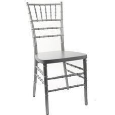 American Classic Silver Wood Chiavari Chair