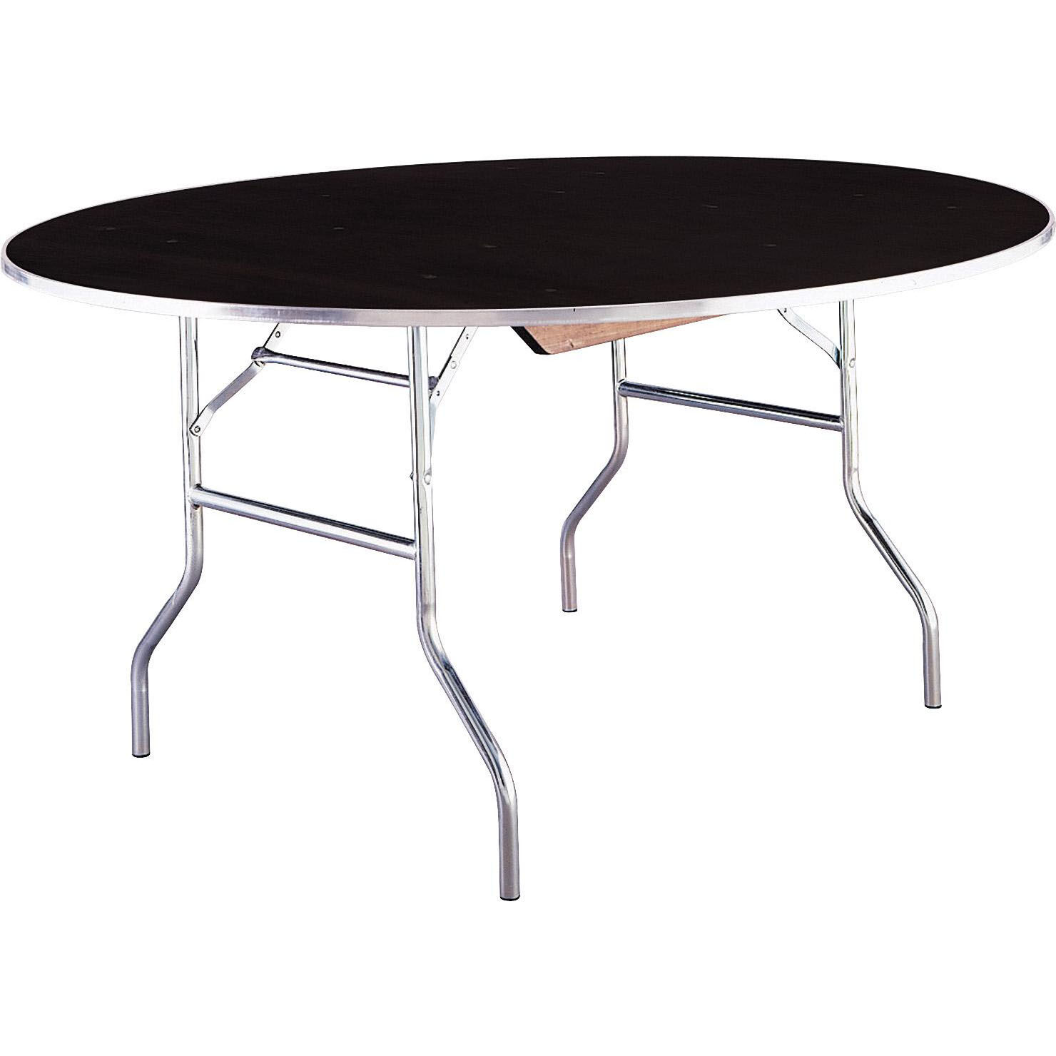 ... Our Standard Series 36u0027u0027 Round Folding Banquet Table With Laminate Top  Is On Sale